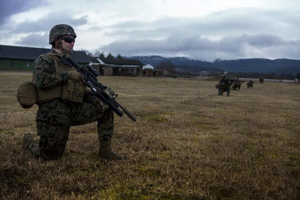 US Marine unit in Norway first to deploy with rifle suppressors