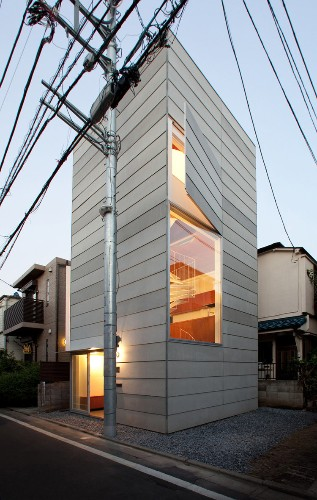 A Japanese architect figured out a simple way to make a tiny home feel huge