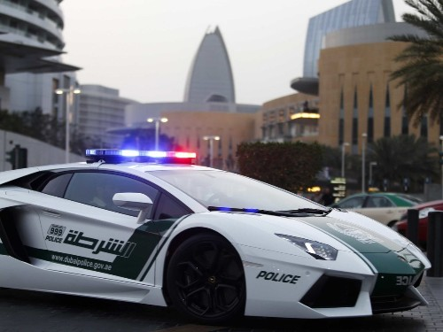 These are the amazing supercars that the Dubai police drive around in - Business Insider