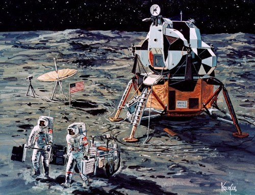 What became of NASA's extra moon landers for Apollo 18, 19, and 20