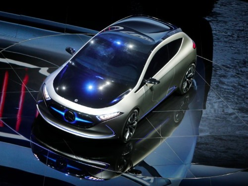 Mercedes' new all-electric concept car shows just how serious the company is about taking on Tesla