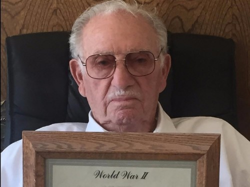 94-year-old who served behind Nazi lines reveals the most terrifying thing he experienced
