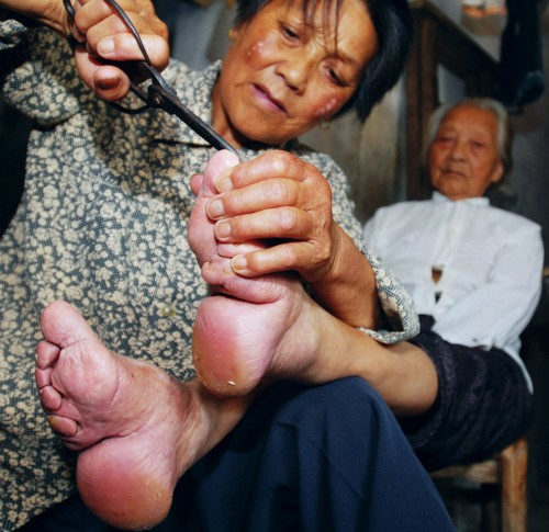 The disturbing reason for the ancient Chinese practice of foot-binding