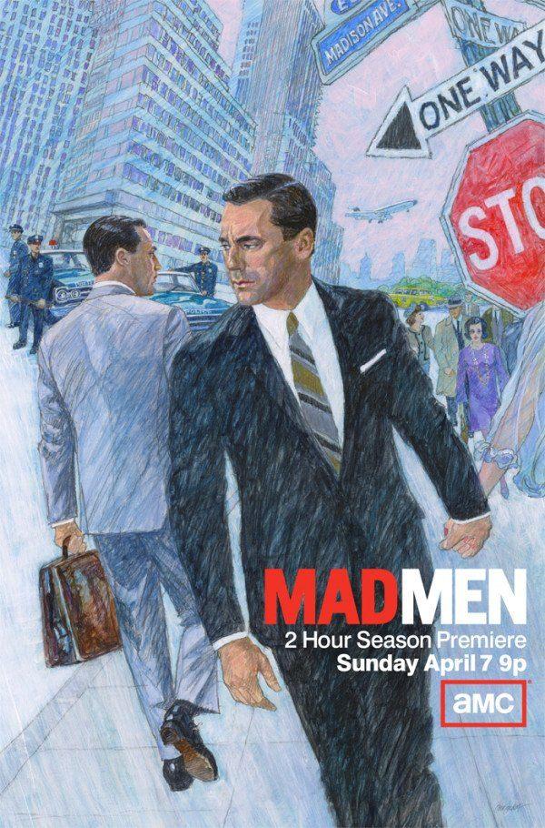Mad Men - Magazine cover