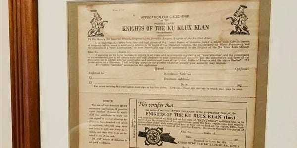 Michigan couple found framed KKK application in police officer's house - Business Insider