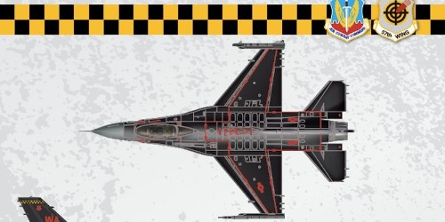 The Air Force is letting you pick the name of the 64th Aggressor Squadron's new F-16 paint job