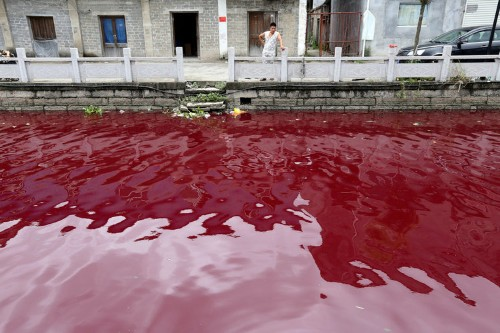 Shocking Photos Show How Polluted China's Water Has Become