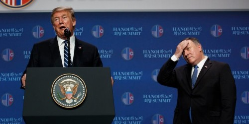 Trump appears to contradict his own secretary of state in a phone call where he indicated the US supported an attack on Tripoli's UN-backed government