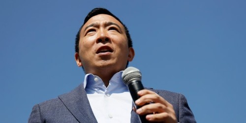 Andrew Yang denounces new 'SNL' cast member's racist comments but says he shouldn't be fired