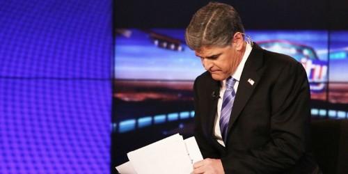 Sean Hannity lives on an island at Fox News
