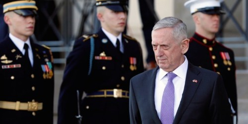 Mattis wanted to lay a trap for Iran after it downed a US drone