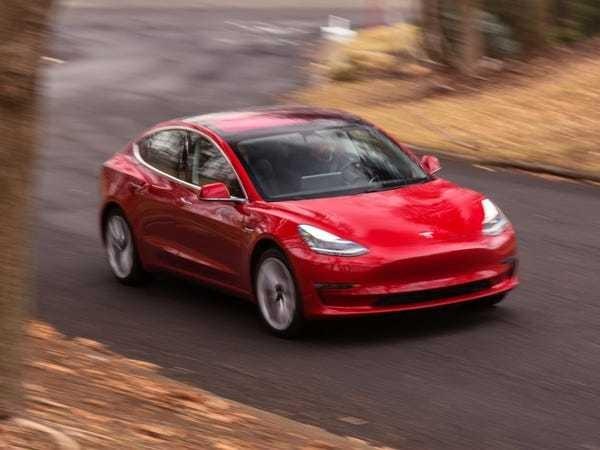 Tesla upgraded Model 3 long range comparison BMW M3 - Business Insider