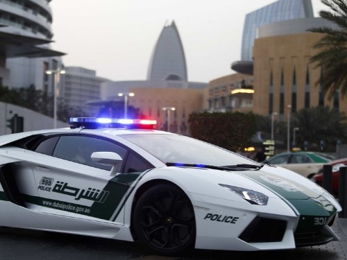 These are the amazing supercars that the Dubai police drive around in