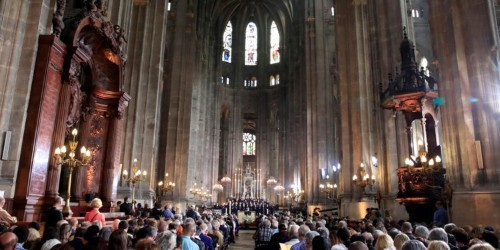 At Easter service in Paris, a bible that survived the Notre-Dame fire was given to the city's fire chief and worshipers prayed for their cathedral