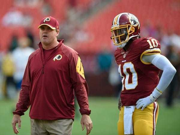 Redskins paying Griffin's 5th-year option a huge risk - Business Insider