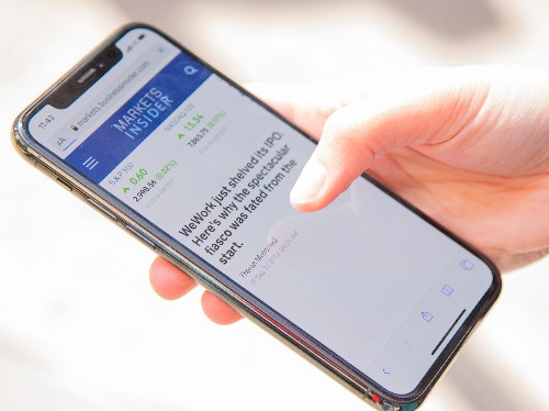 How to copy and paste using gestures on an iPhone with iOS 13, and edit text in an instant - Business Insider