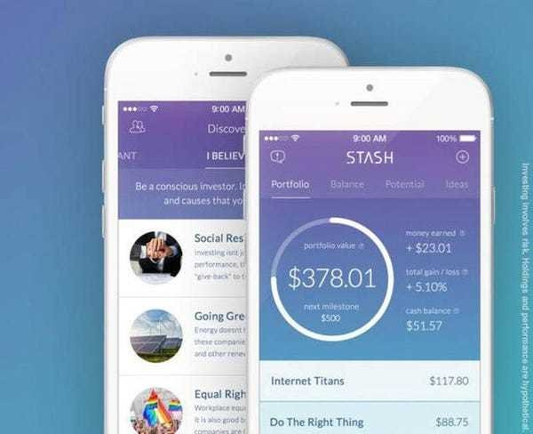 Personal finance app Stash lets you invest with as little as $5 — and it makes the proce... - Business Insider