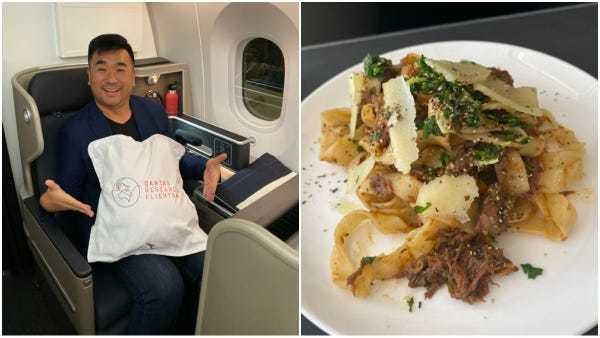 Photos: What it's like on Qantas' 19-hour London to Sydney flight - Business Insider
