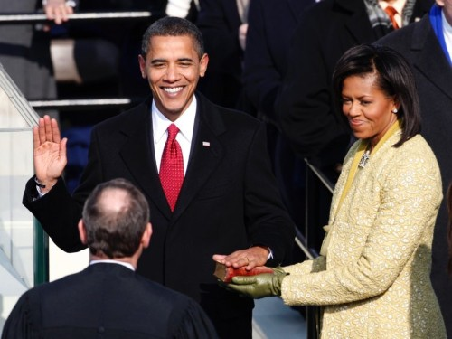 Obama was inaugurated 10 years ago today — here's what newspapers looked like the next day