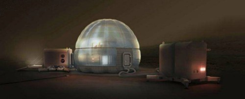 NASA just released its incredibly cool concept for houses on Mars