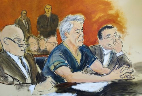 Epstein's jail cell door was unlocked and deputies provided 'security'
