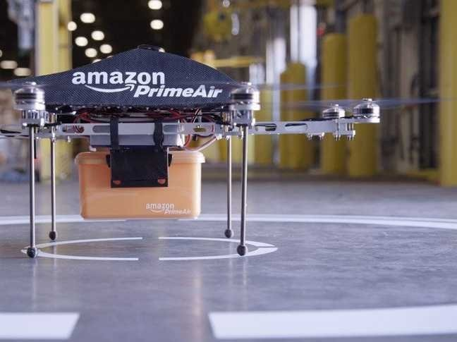 Half Of The Team Behind Amazon's Drone Delivery Are Ex-Microsoft Employees
