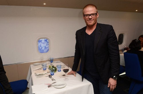 This simple trick will make any glass of wine taste better, according to Heston Blumenthal