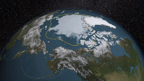 The average American is personally responsible for melting 645 square feet of Arctic ice every year