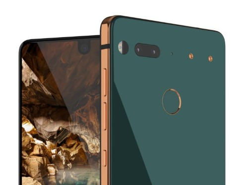 The creator of Android has finally unveiled his new phone