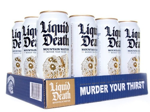 Canned water startup Liquid Death in talks to raise as much as $20M