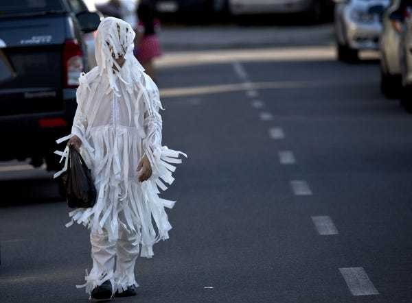 Forget poisoned candy, cars are the real killer on Halloween - Business Insider