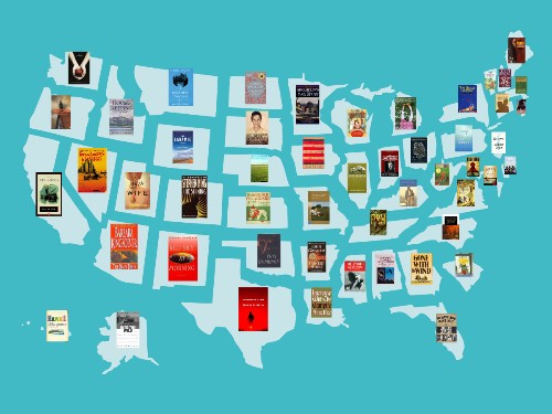 The most famous book set in every state in America