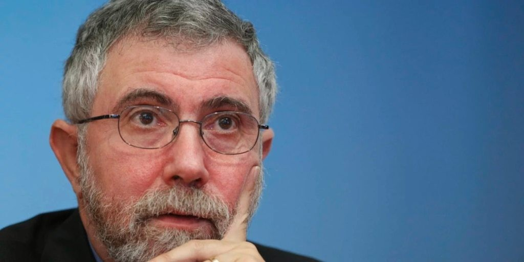 Nobel-winning economist Paul Krugman starkly laid out the disconnect between the stock market and the economy in a scathing op-ed