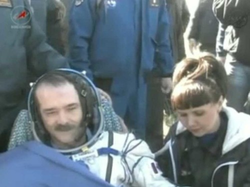 ISS Astronauts Make It Home Safely