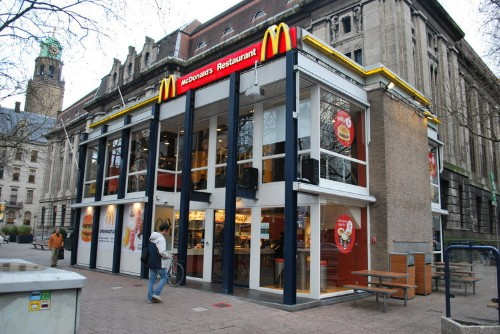 This might be the fanciest McDonald's in the world