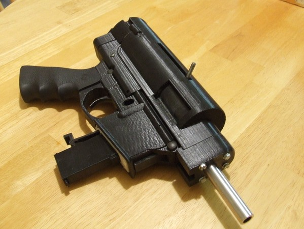 This 3D-printed automatic gun is semi-automatic, untraceable, and totally legal