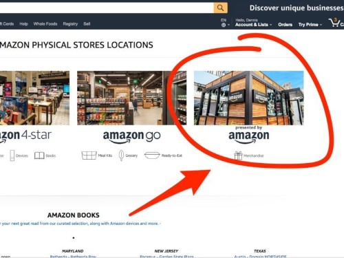 Amazon quietly launched a new store in malls after pulling the plug on its pop-up stores