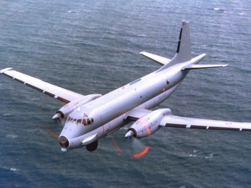 The French and British air forces are hunting for a Russian submarine off the Scottish coast