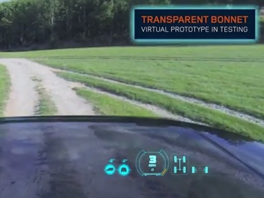Land Rover Has Invented A 'Transparent' Car