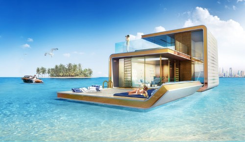 These ultra-luxurious underwater homes are being built in Dubai