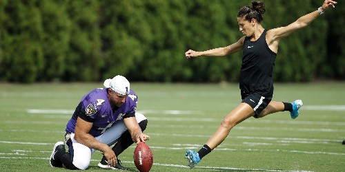 USWNT's Carli Lloyd on NFL kicking career — 'I'm entertaining it' - Business Insider