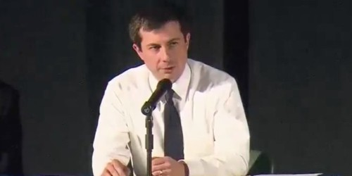 Pete Buttigieg faced angry residents at tense town hall meeting over police shootings