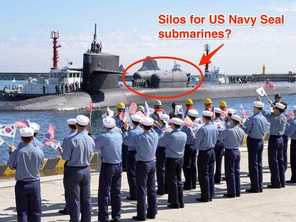 The US may have sent Navy SEALs to South Korea with covert submarines - Business Insider