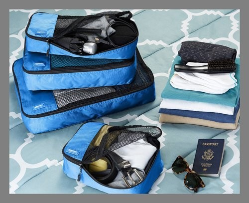 Here's everything you need to keep your suitcase light and organized