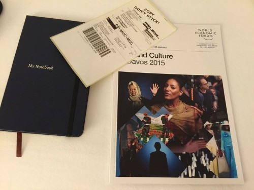 Unboxing The Davos Swag Bag