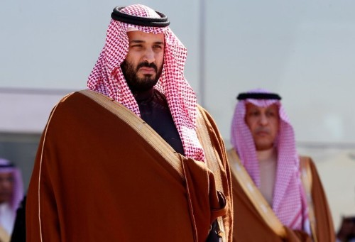 Oil climbs after Saudi Arabia detains princes and dozens of former officials