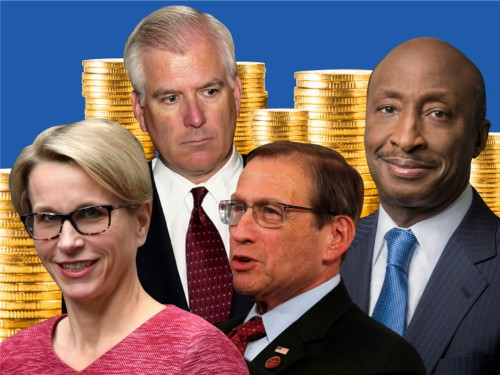 Healthcare CEOs make millions every year. Here's what the industry's top executives earned in 2018.