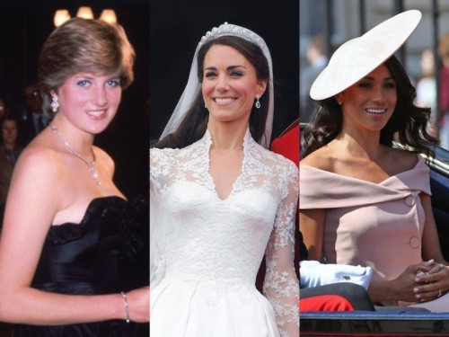What Meghan Markle, Kate Middleton looked like when they became royal