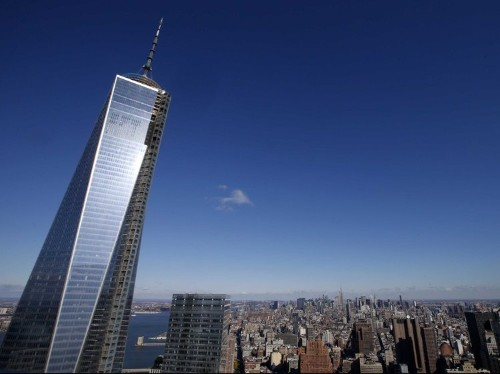 The First World Trade Center Tower At Ground Zero Since 9/11 Opens Today