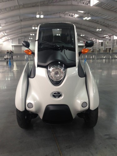I drove Toyota's vision for future mobility — and it was surprisingly fun